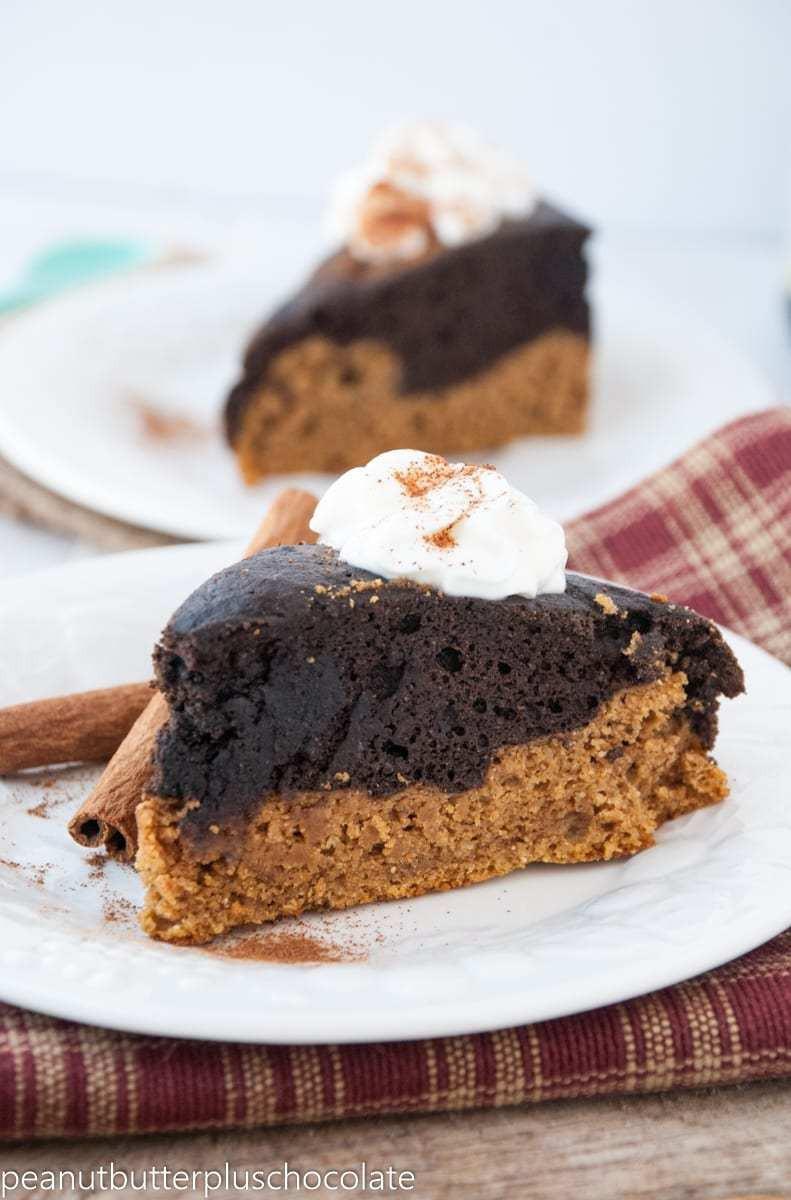 Healthy Pumpkin Chocolate Cake  The Best Ever Healthy Pumpkin Chocolate Cake — Peanut