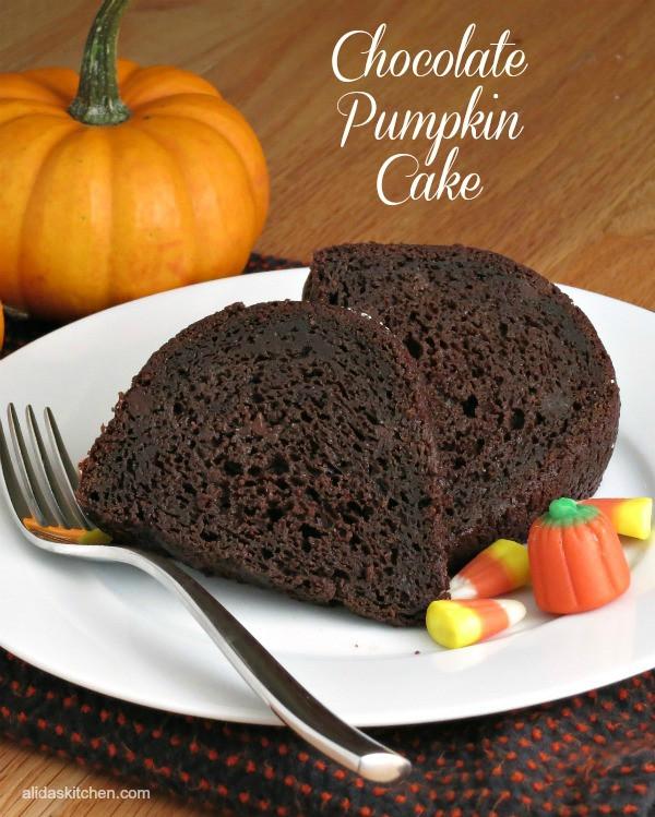 Healthy Pumpkin Chocolate Cake  Healthy Thanksgiving Dessert Recipes Food Done Light