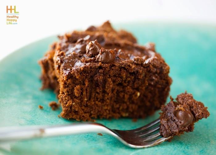 Healthy Pumpkin Chocolate Cake  main course