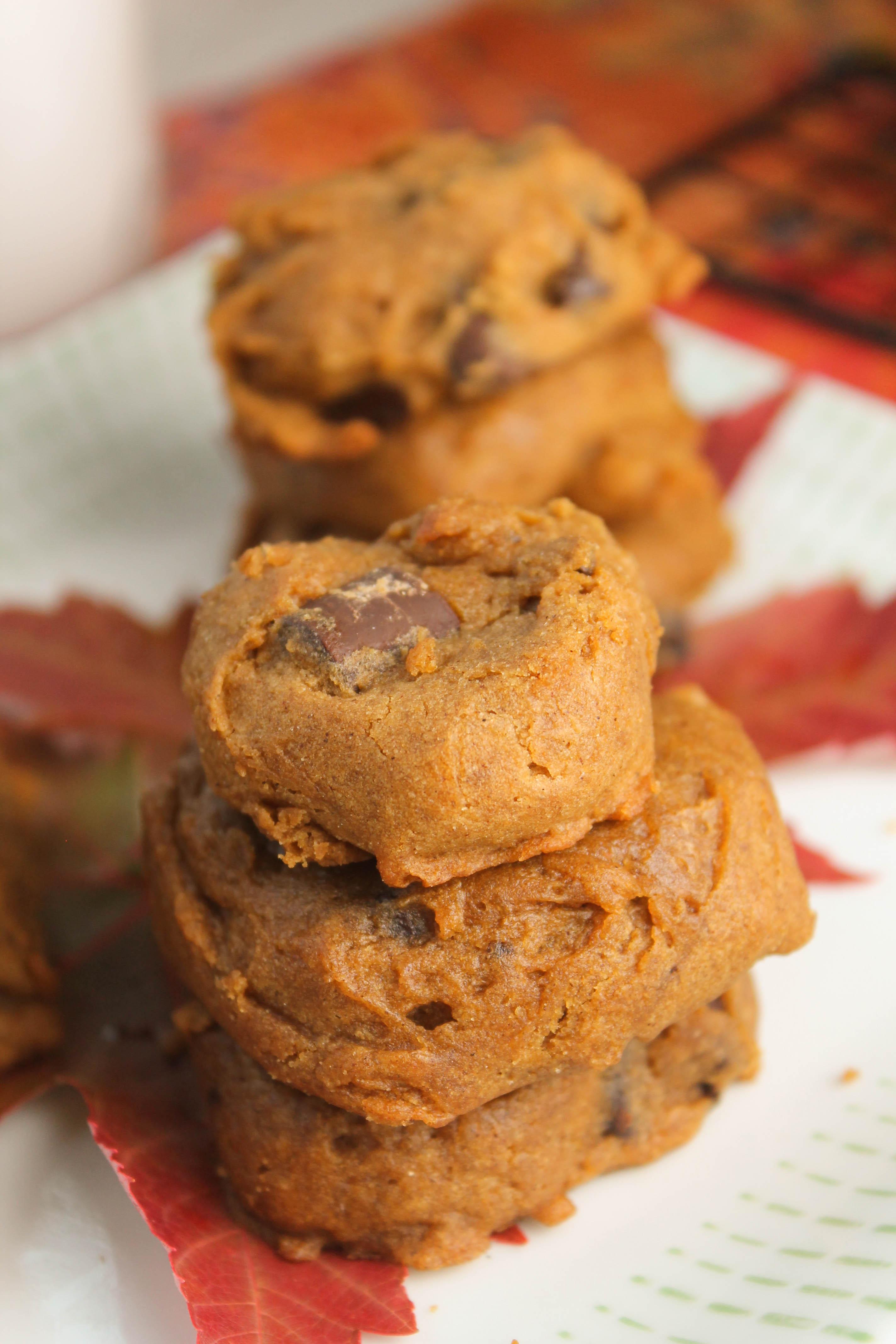 Healthy Pumpkin Cookie Recipes  healthy vegan pumpkin cookies