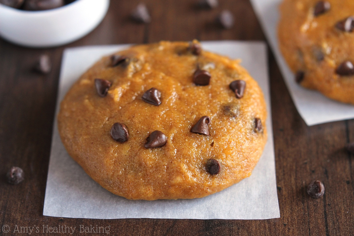 Healthy Pumpkin Cookie Recipes  The Ultimate Healthy Soft & Chewy Pumpkin Chocolate Chip