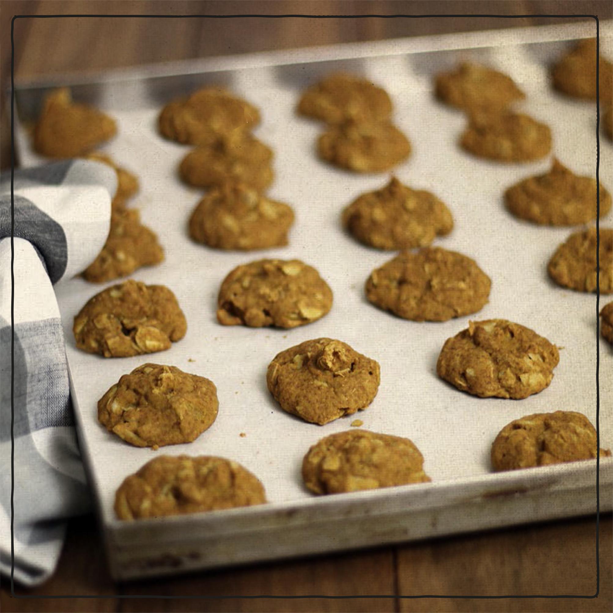 Healthy Pumpkin Cookies Applesauce  applesauce pumpkin cookies