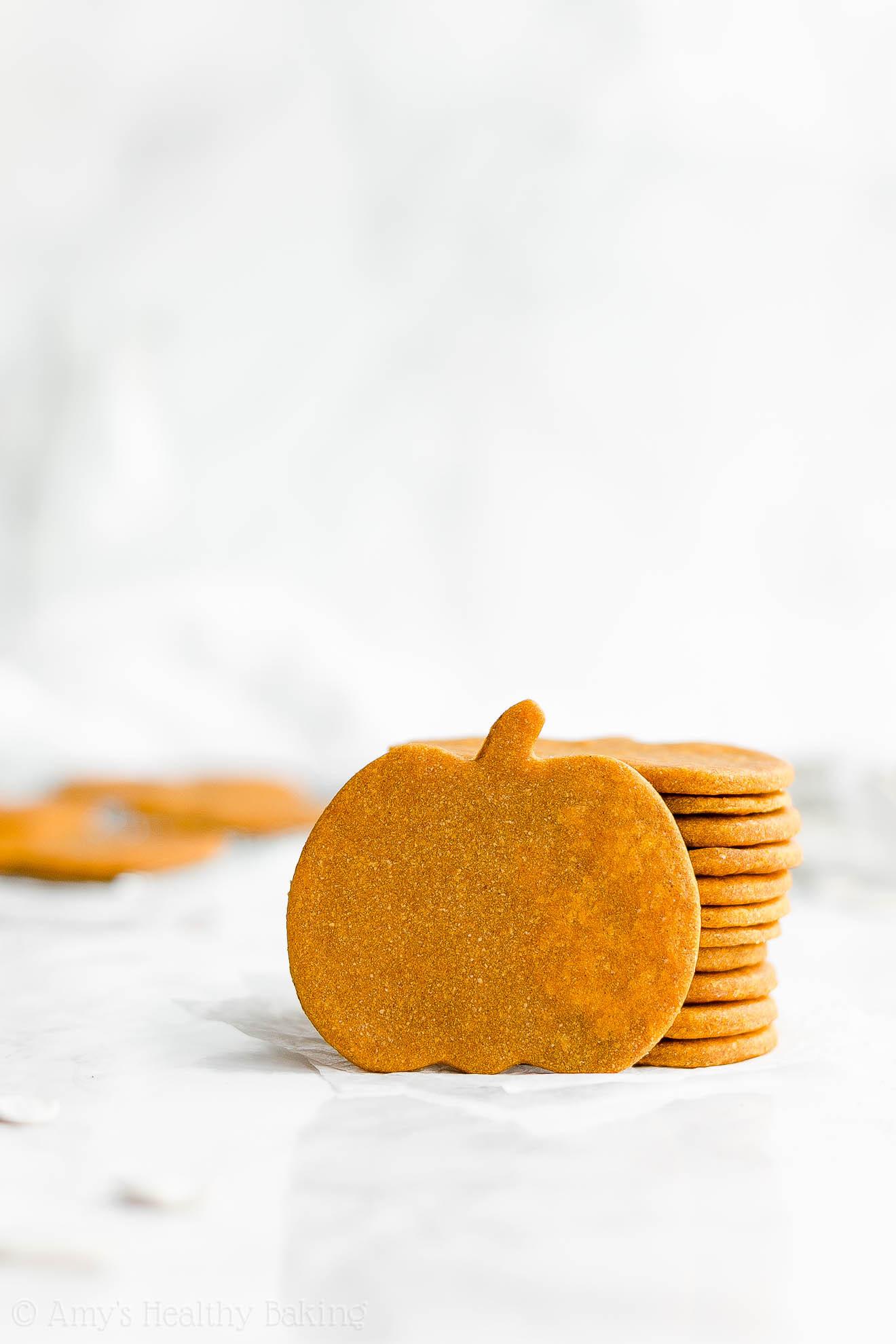 Healthy Pumpkin Cookies No Sugar  Healthy Pumpkin Sugar Cookies