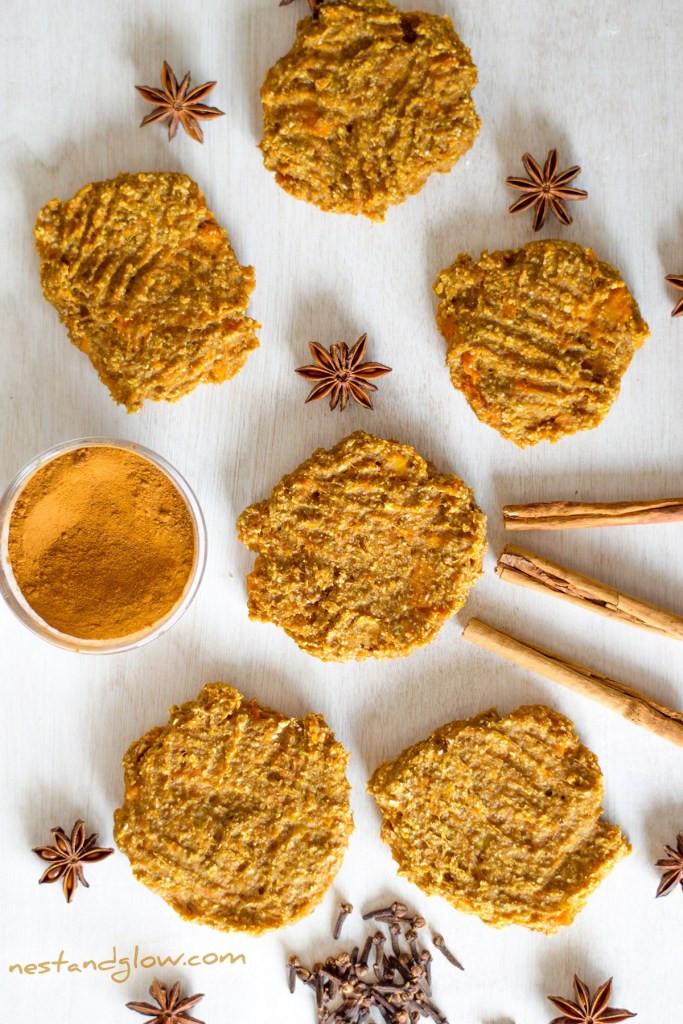 Healthy Pumpkin Cookies No Sugar 20 Best Ideas Healthy Pumpkin Spice Cookies Vegan with No Sugar and
