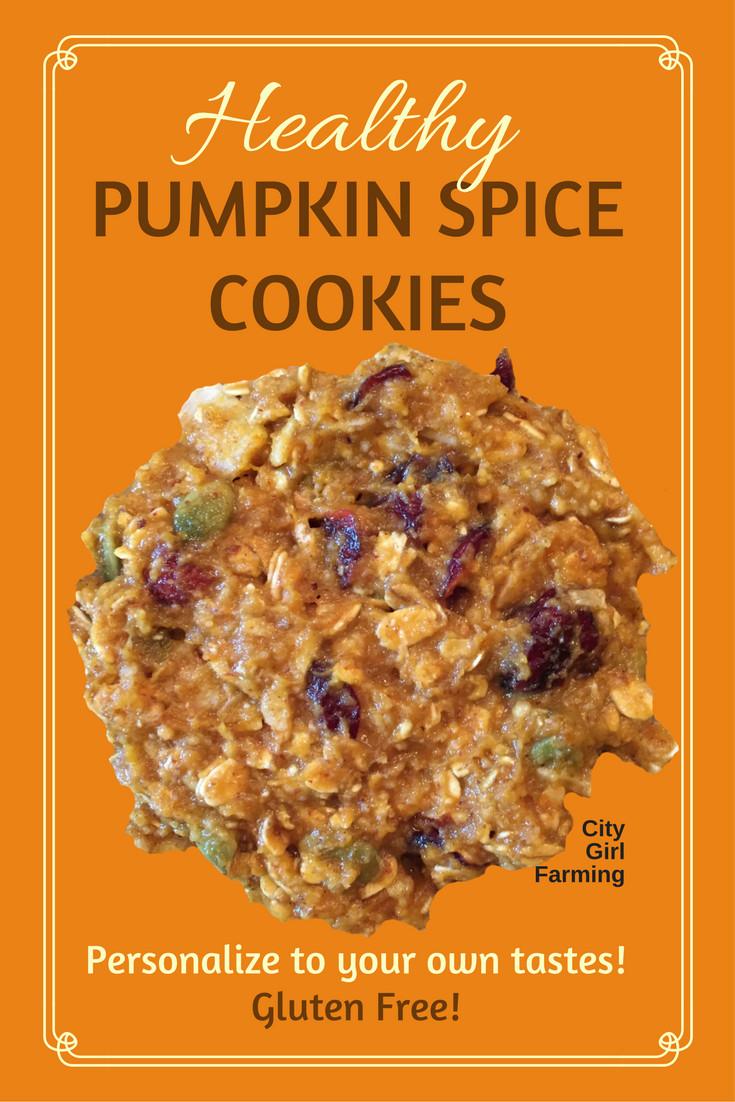 Healthy Pumpkin Cookies No Sugar  How to Make Healthy Pumpkin Cookies CITY GIRL FARMING