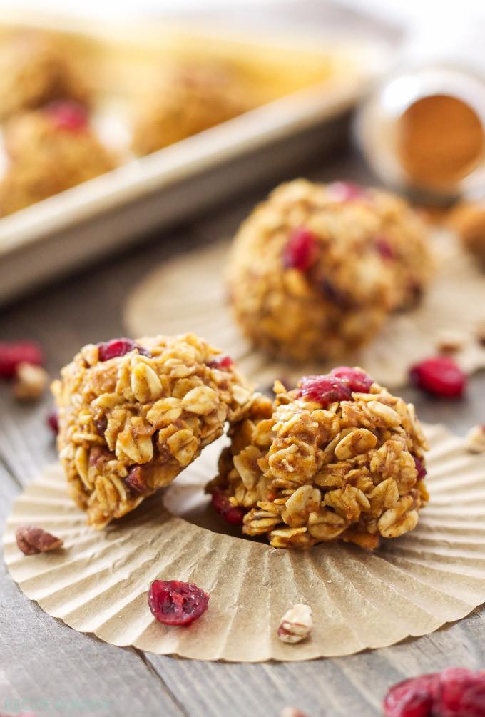 Healthy Pumpkin Cookies No Sugar  Healthy no bake oatmeal cookie recipes Food cookie recipes