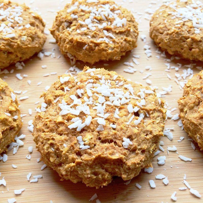 Healthy Pumpkin Cookies No Sugar  Healthy Pumpkin Spice Cookies in 2018