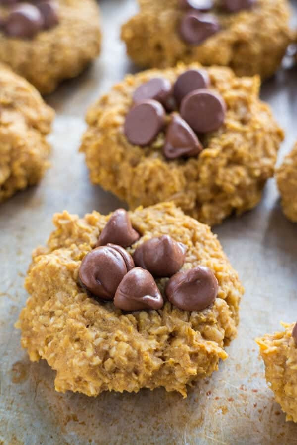 Healthy Pumpkin Cookies No Sugar  50 Easy Healthy Desserts to Try Healthy Dessert Ideas