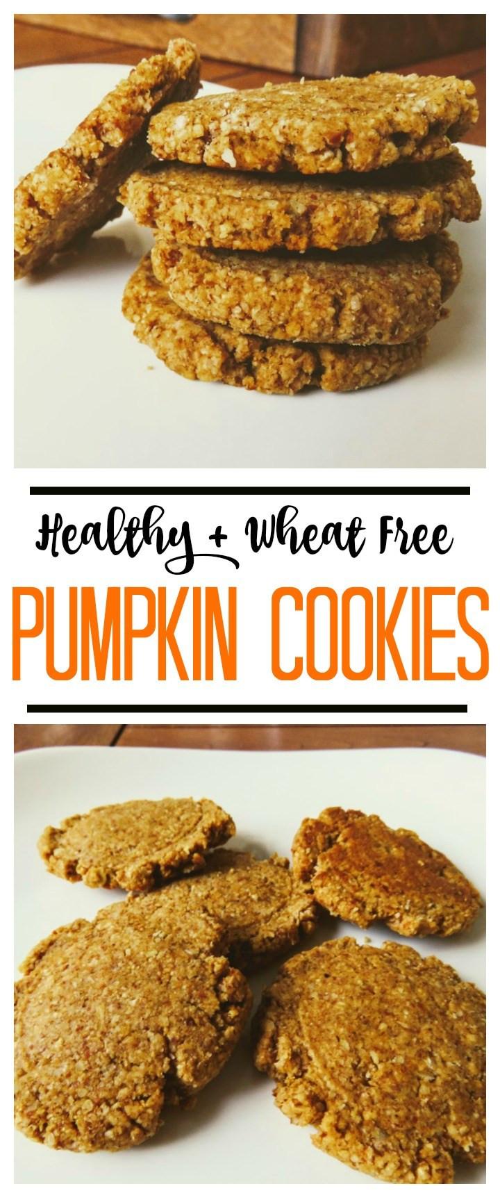 Healthy Pumpkin Cookies  Healthy Wheat Free Pumpkin Cookies Write Your Story
