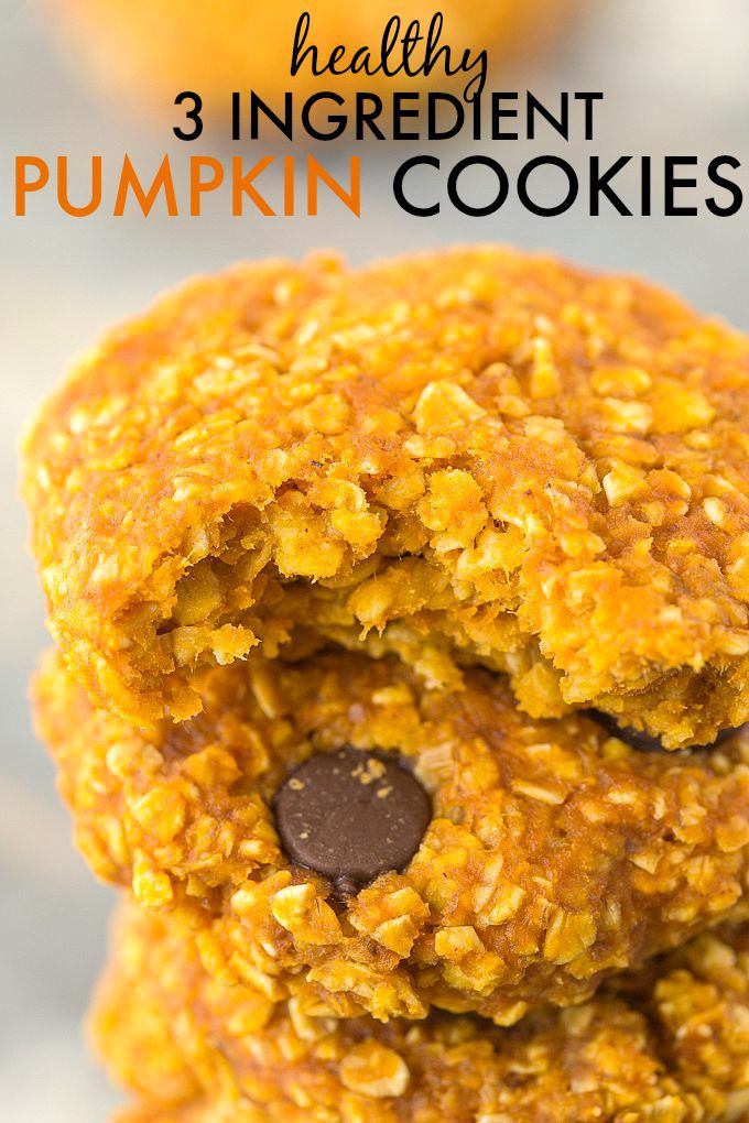 Healthy Pumpkin Cookies  17 Super Healthy Weight Loss Snacks That Have 4