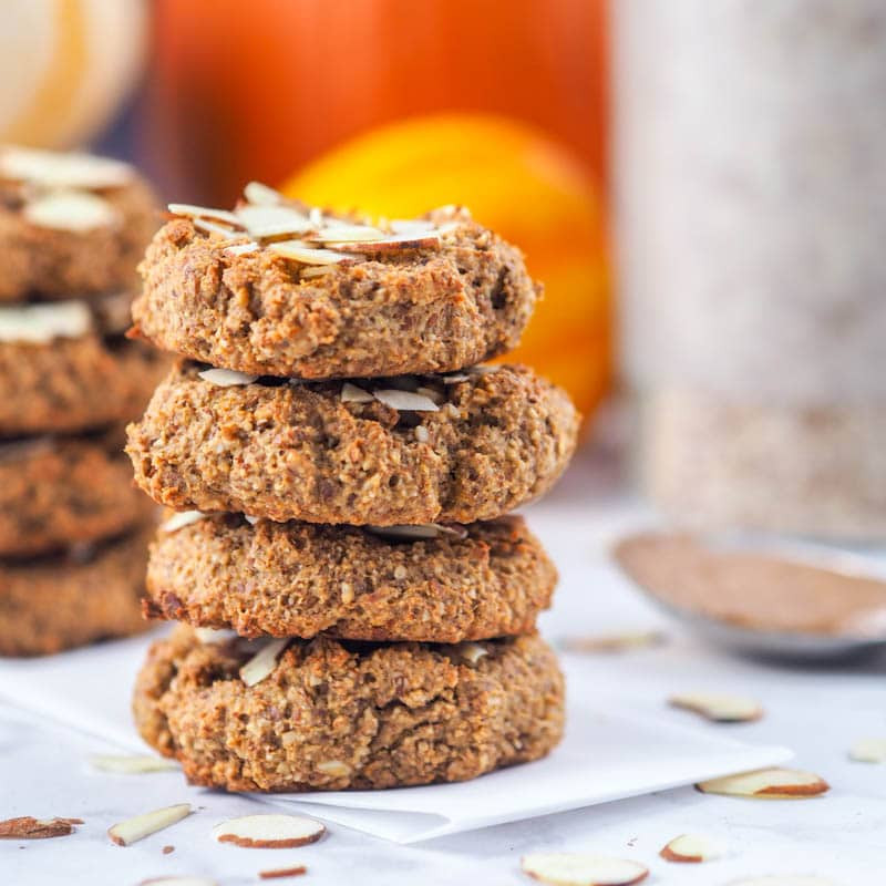 Healthy Pumpkin Cookies  Vegan Healthy Pumpkin Cookies GF