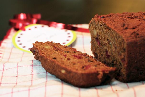 Healthy Pumpkin Cranberry Bread  Heart Healthy Holiday Recipe Pumpkin Cranberry Bread