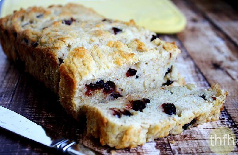 Healthy Pumpkin Cranberry Bread  healthy cranberry bread
