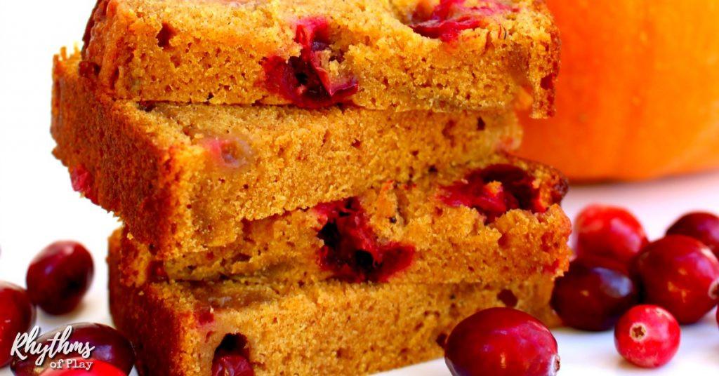 Healthy Pumpkin Cranberry Bread  Healthy Homemade Pumpkin Cranberry Bread Recipe