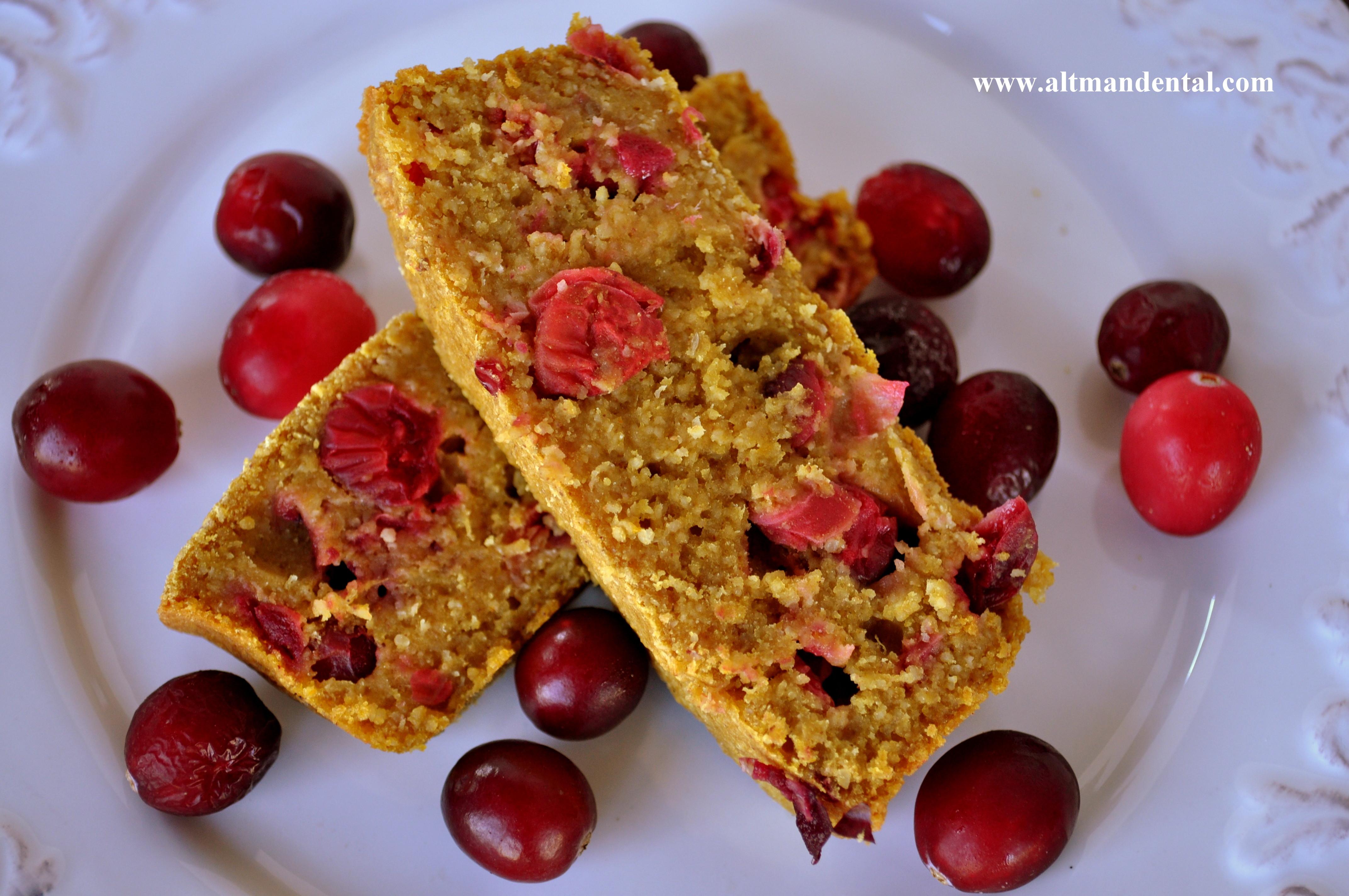 Healthy Pumpkin Cranberry Bread  Pumpkin Cranberry Bread Gluten & Dairy Free Made With Oat