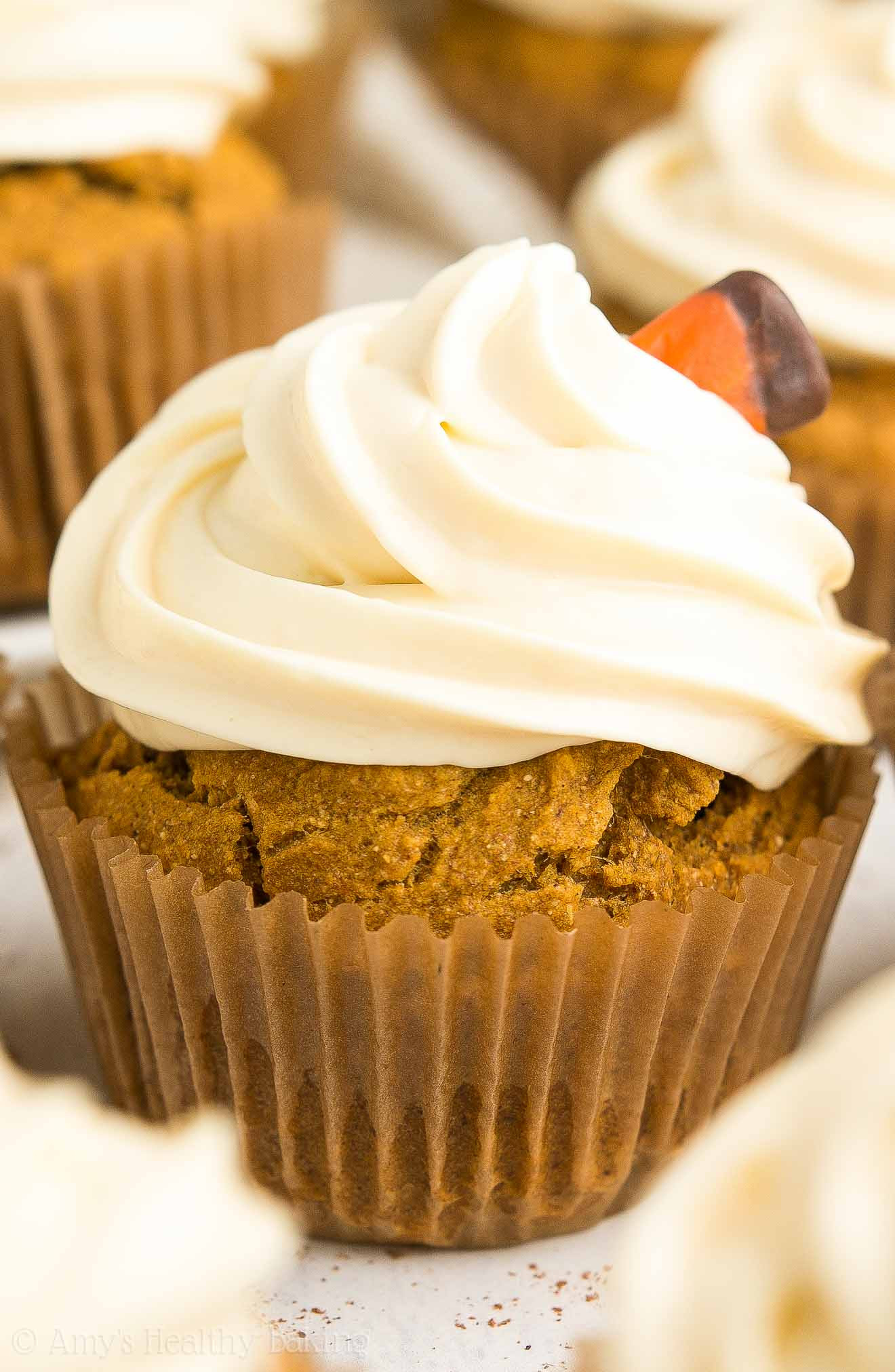Healthy Pumpkin Cupcakes Best 20 Healthy Pumpkin Cupcakes with Cream Cheese Frosting