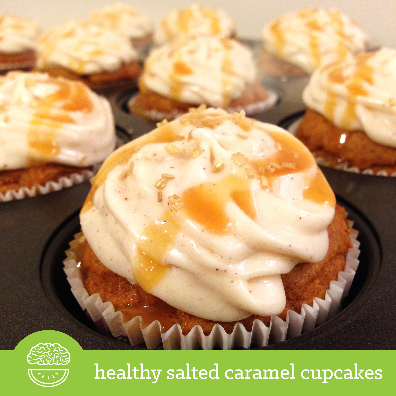 Healthy Pumpkin Cupcakes  Ripped Recipes Healthy Salted Caramel Pumpkin Cupcakes