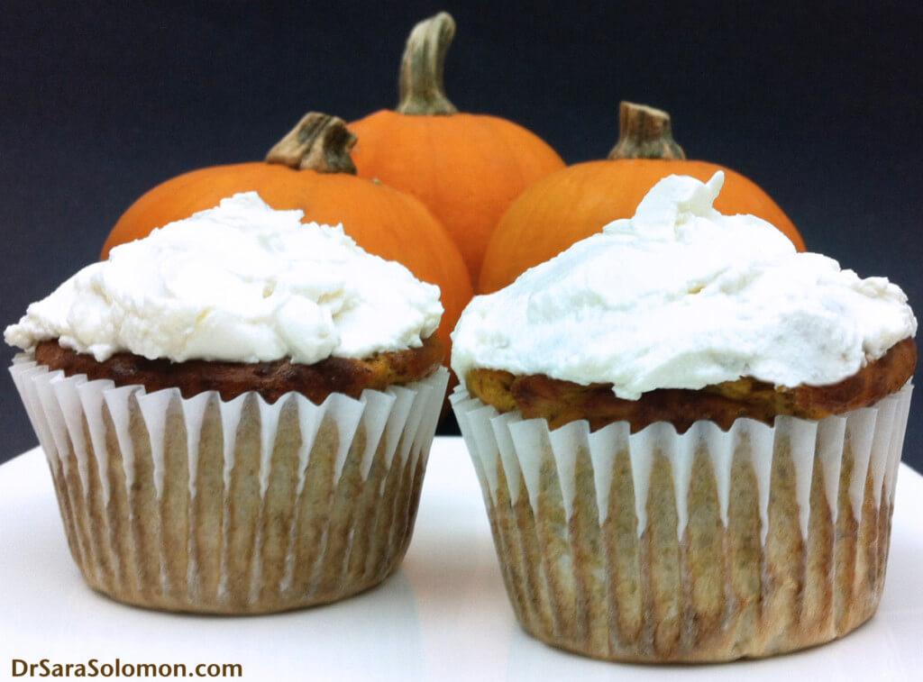 Healthy Pumpkin Cupcakes  EAT IT ALL – 20 Best Pumpkin Protein Desserts – Dr Sara