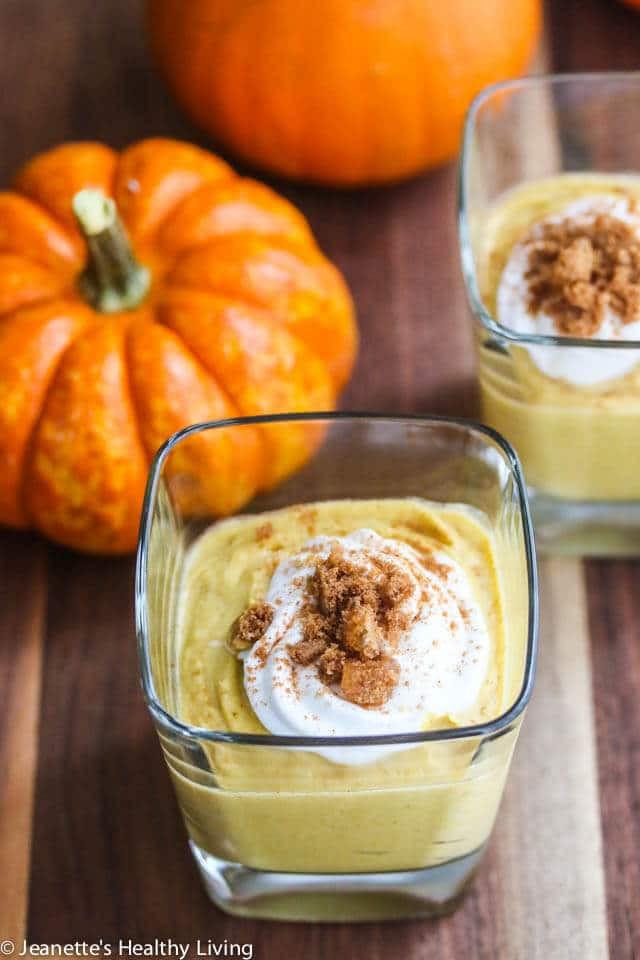 Healthy Pumpkin Mousse  Pumpkin Coconut Turmeric Mousse Recipe Jeanette s