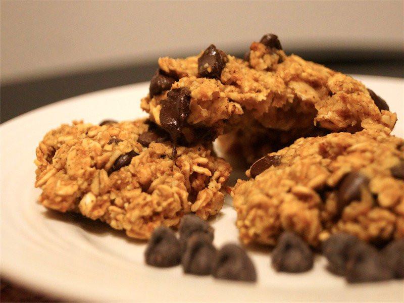 Healthy Pumpkin Oatmeal Chocolate Chip Cookies  Pumpkin Oatmeal Chocolate Chip Cookies Slender Kitchen