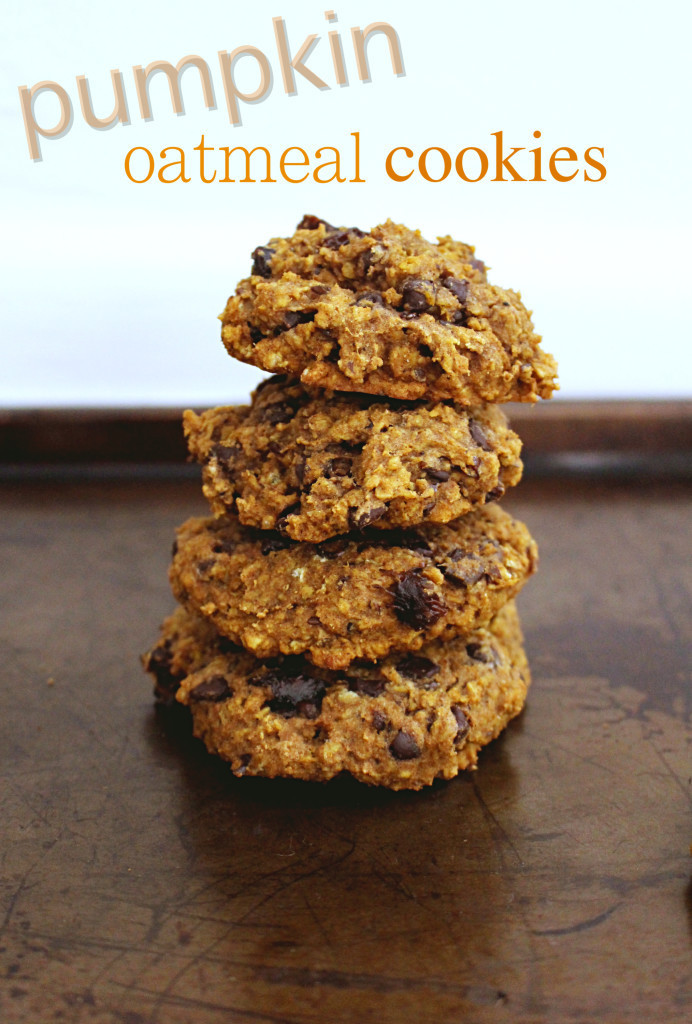 Healthy Pumpkin Oatmeal Cookies  Beyond Fit Mom