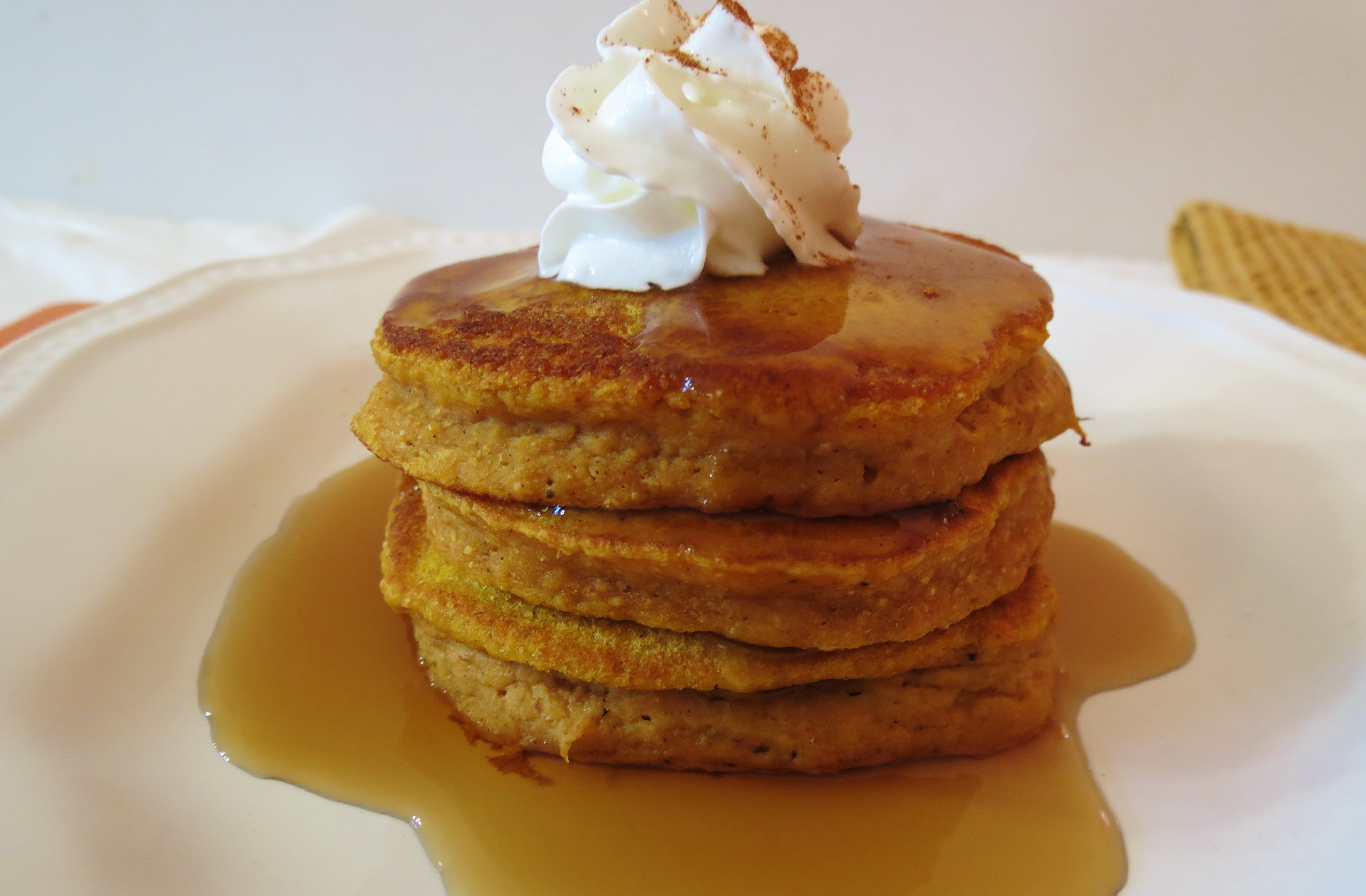 Healthy Pumpkin Pancakes  Pumpkin Pancakes