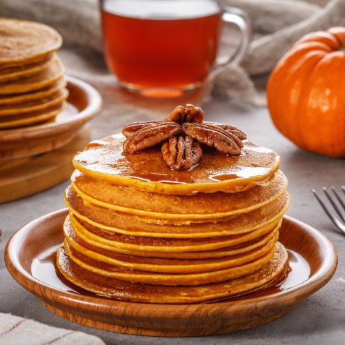 Healthy Pumpkin Pancakes Recipe  Healthy Pumpkin Pancakes Get Healthy U
