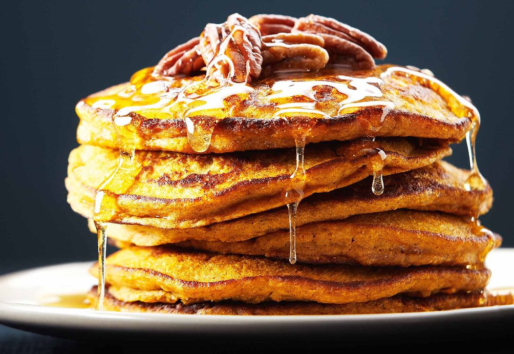Healthy Pumpkin Pancakes Recipe  10 Uber Healthy Fall Dessert Recipes To Quench Your Raging