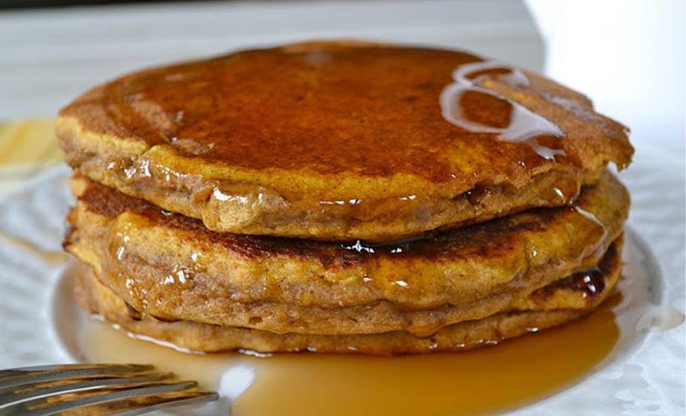 Healthy Pumpkin Pancakes Recipe  Whole Wheat Pumpkin Pancakes Recipes