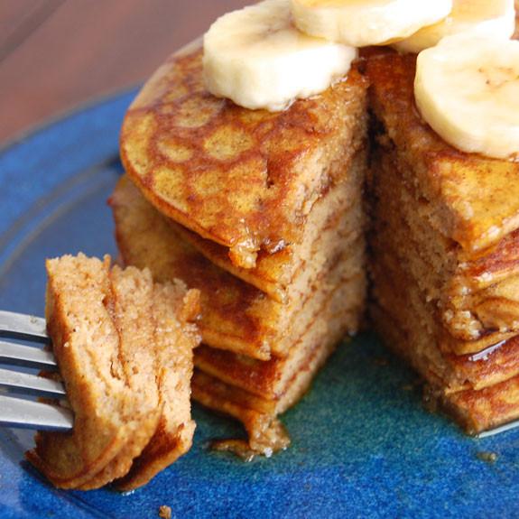 Healthy Pumpkin Pancakes Recipe  healthy pancake recipe from scratch