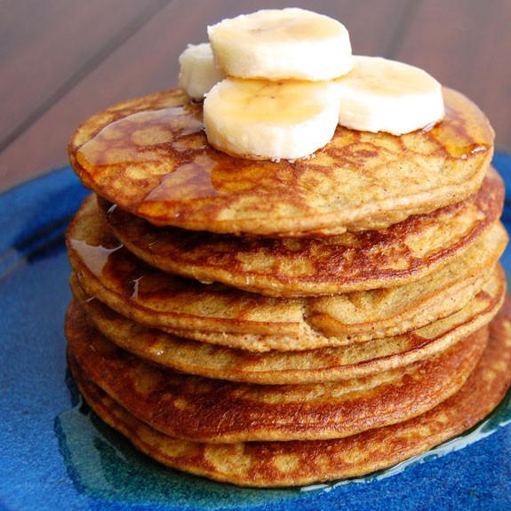 Healthy Pumpkin Pancakes  Healthy Pumpkin Pancakes Gluten Free
