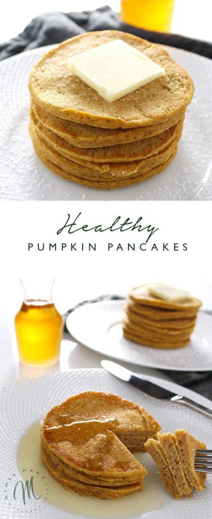 Healthy Pumpkin Pancakes  Healthy Pumpkin Pancakes