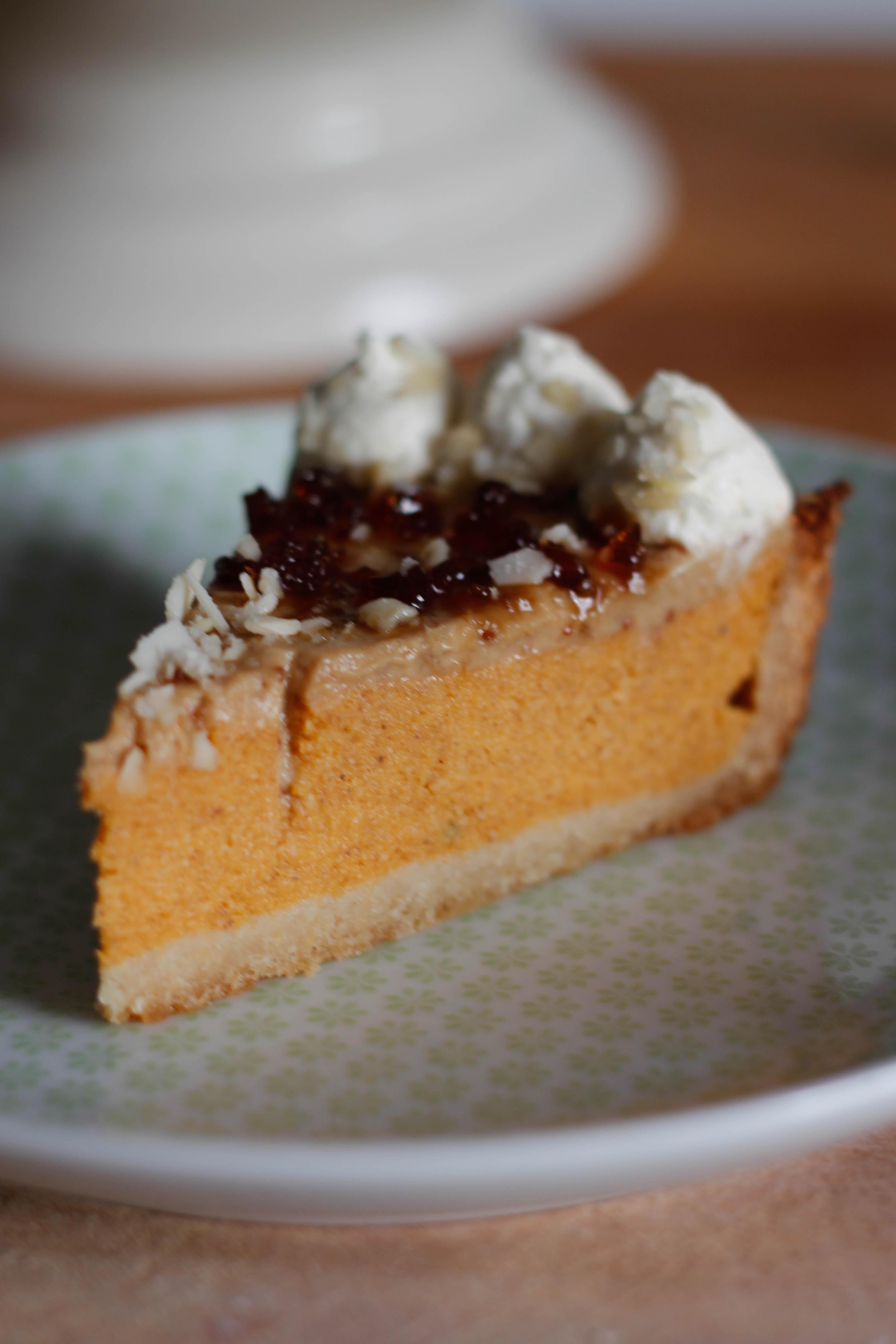 Healthy Pumpkin Pie Filling  Healthy Pumpkin Pie – Briana s Kitchen