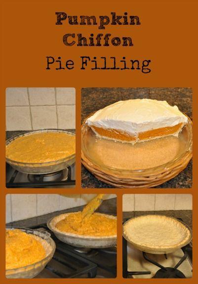 Healthy Pumpkin Pie Filling  Pumpkin Chiffon Pie Filling Recipe