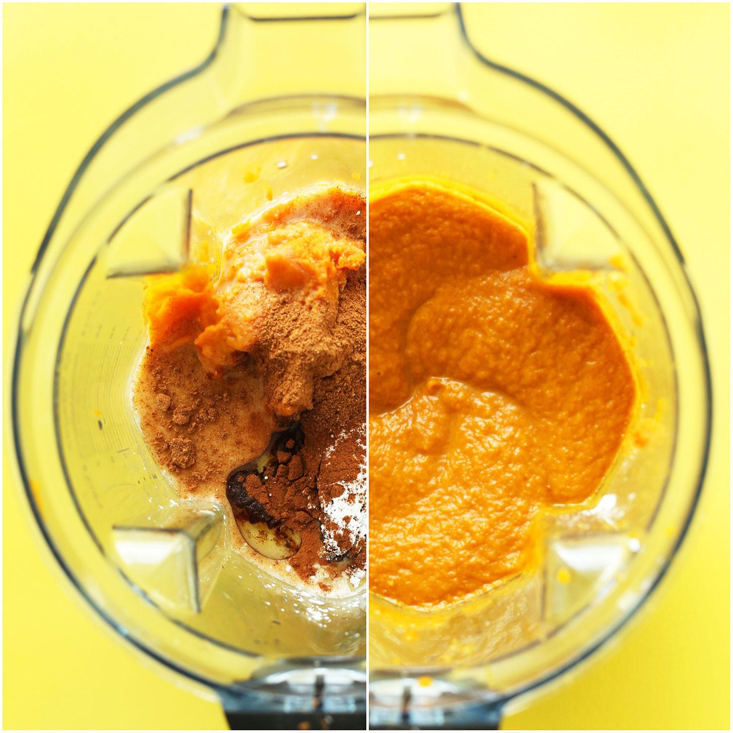 Healthy Pumpkin Pie Filling  Mini Pumpkin Pies