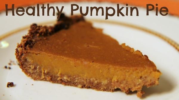 Healthy Pumpkin Pie Filling  Ultimate Thanksgiving Pie Healthy Pumpkin Pie
