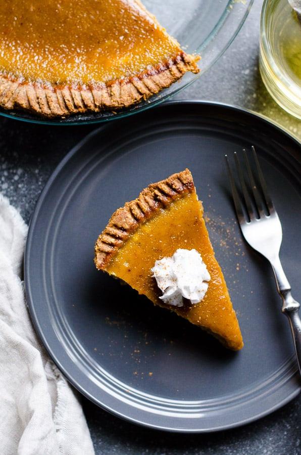 Healthy Pumpkin Pie Filling  Healthy Pumpkin Pie iFOODreal Healthy Family Recipes