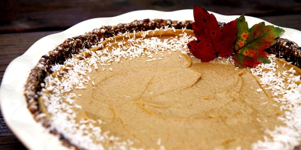 Healthy Pumpkin Pie Filling  Raw Vegan Pumpkin Pie Recipe