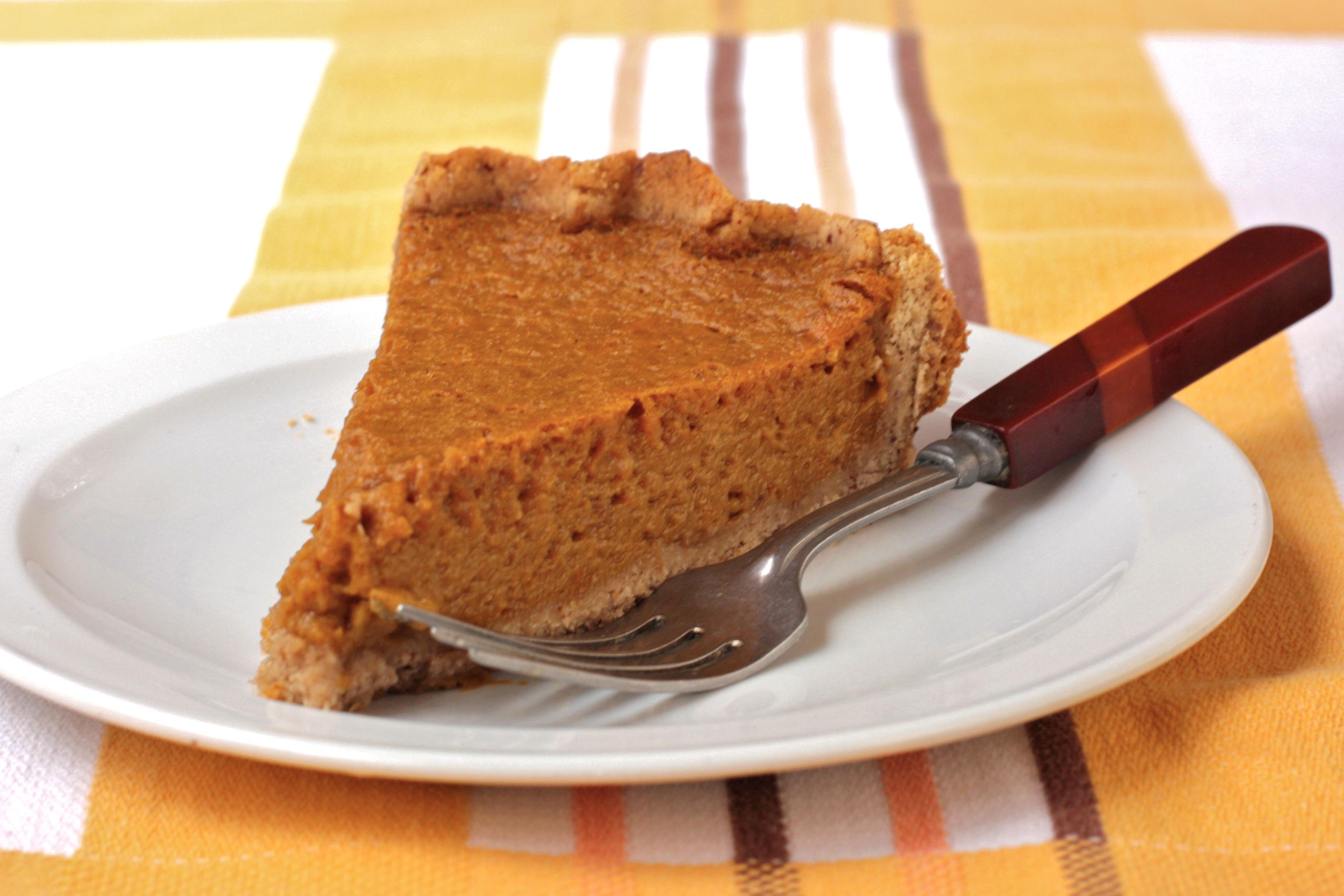 Healthy Pumpkin Pie Recipe  Healthy Thanksgiving recipe Low Fat Pumpkin Pie