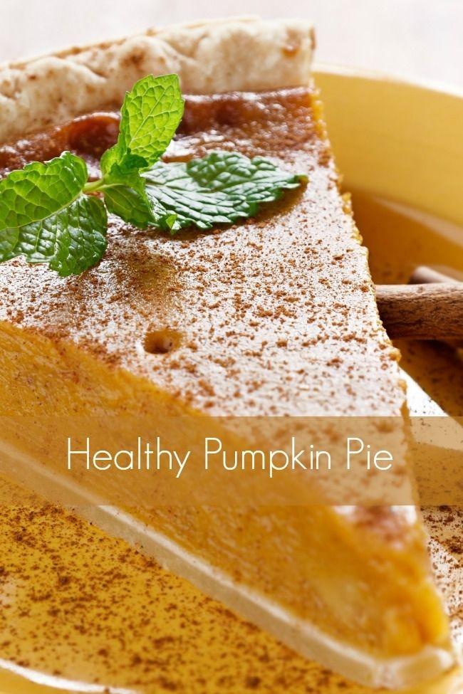 Healthy Pumpkin Pie Recipe  25 bästa Healthy pumpkin pies idéerna på Pinterest