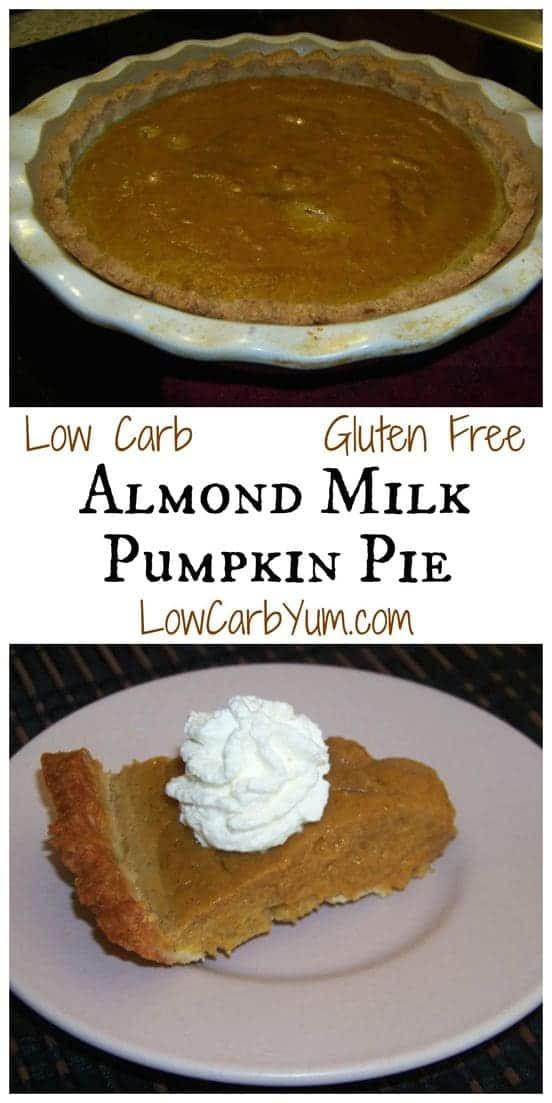 Healthy Pumpkin Pie Recipe with Almond Milk the 20 Best Ideas for Almond Milk Pumpkin Pie Gluten Free
