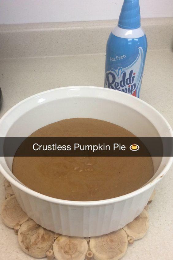 Healthy Pumpkin Pie Recipe With Almond Milk  Healthy Crustless Pumpkin Pie Mix 1 15 oz can pumpkin