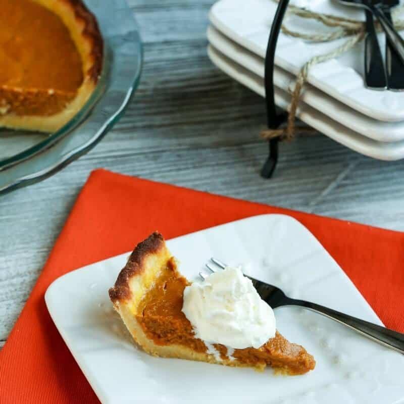 Healthy Pumpkin Pie Recipe With Almond Milk  Almond Milk Pumpkin Pie Gluten Free