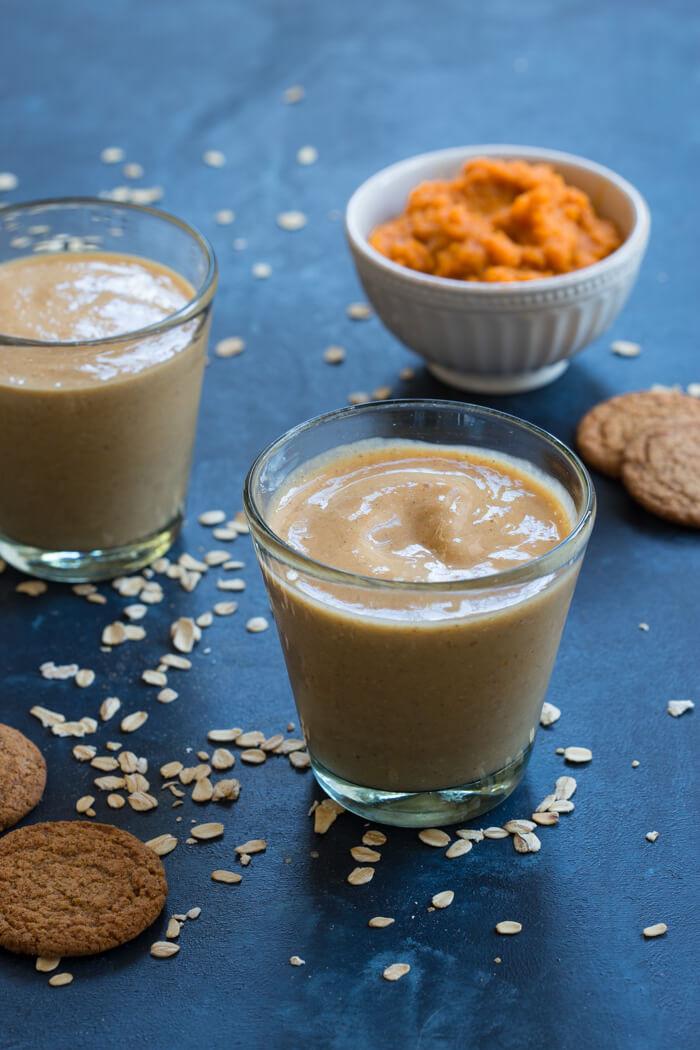 Healthy Pumpkin Pie Recipe With Almond Milk  Pumpkin Pie Smoothie