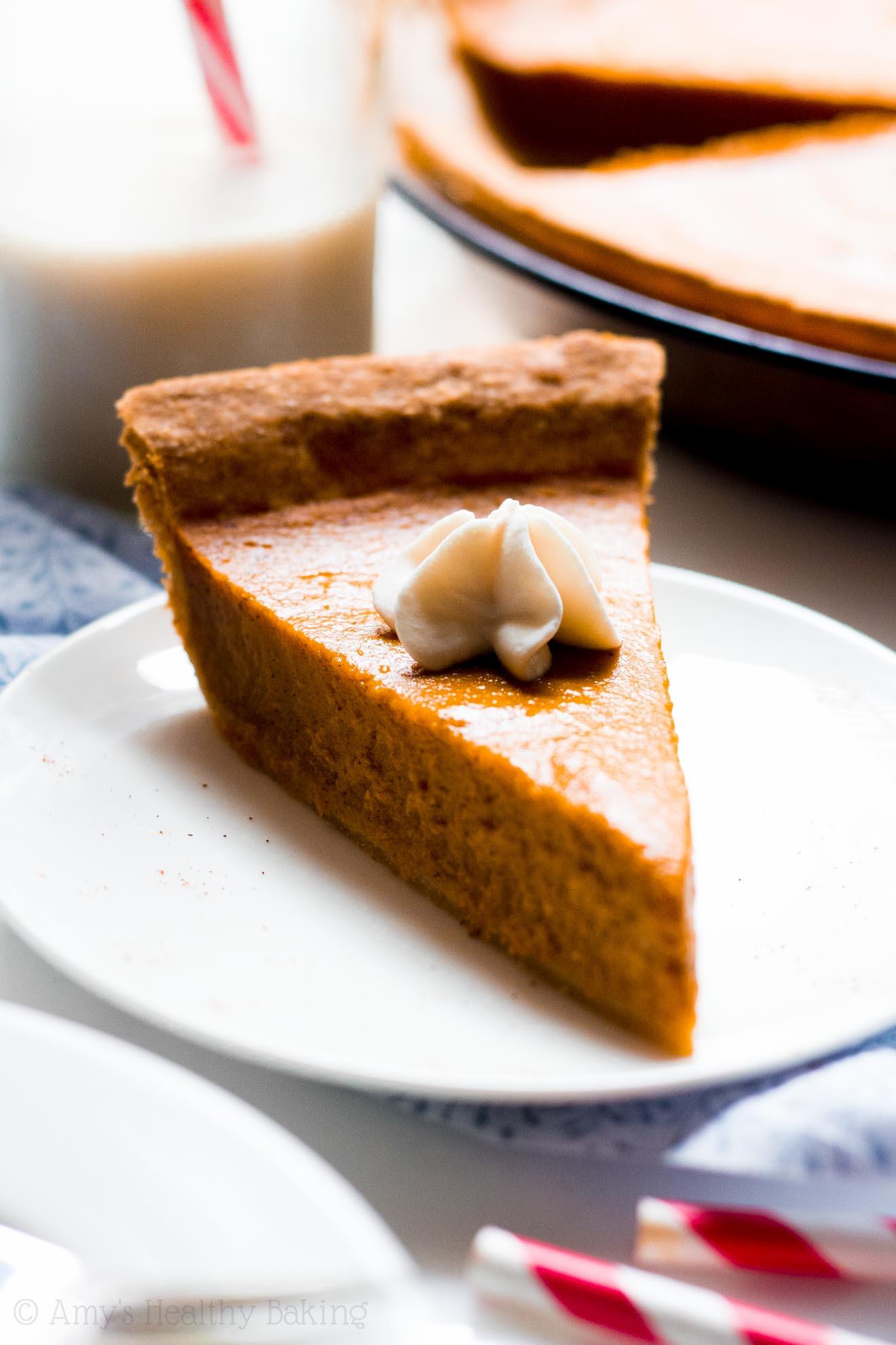 Healthy Pumpkin Pie Recipes  healthy pumpkin pie recipe greek yogurt