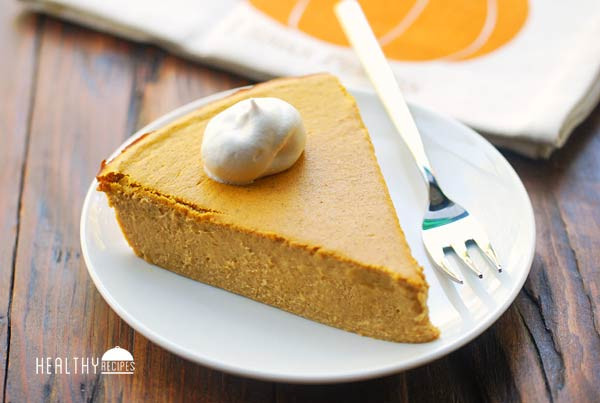 Healthy Pumpkin Pie Recipes  Crustless Pumpkin Pie