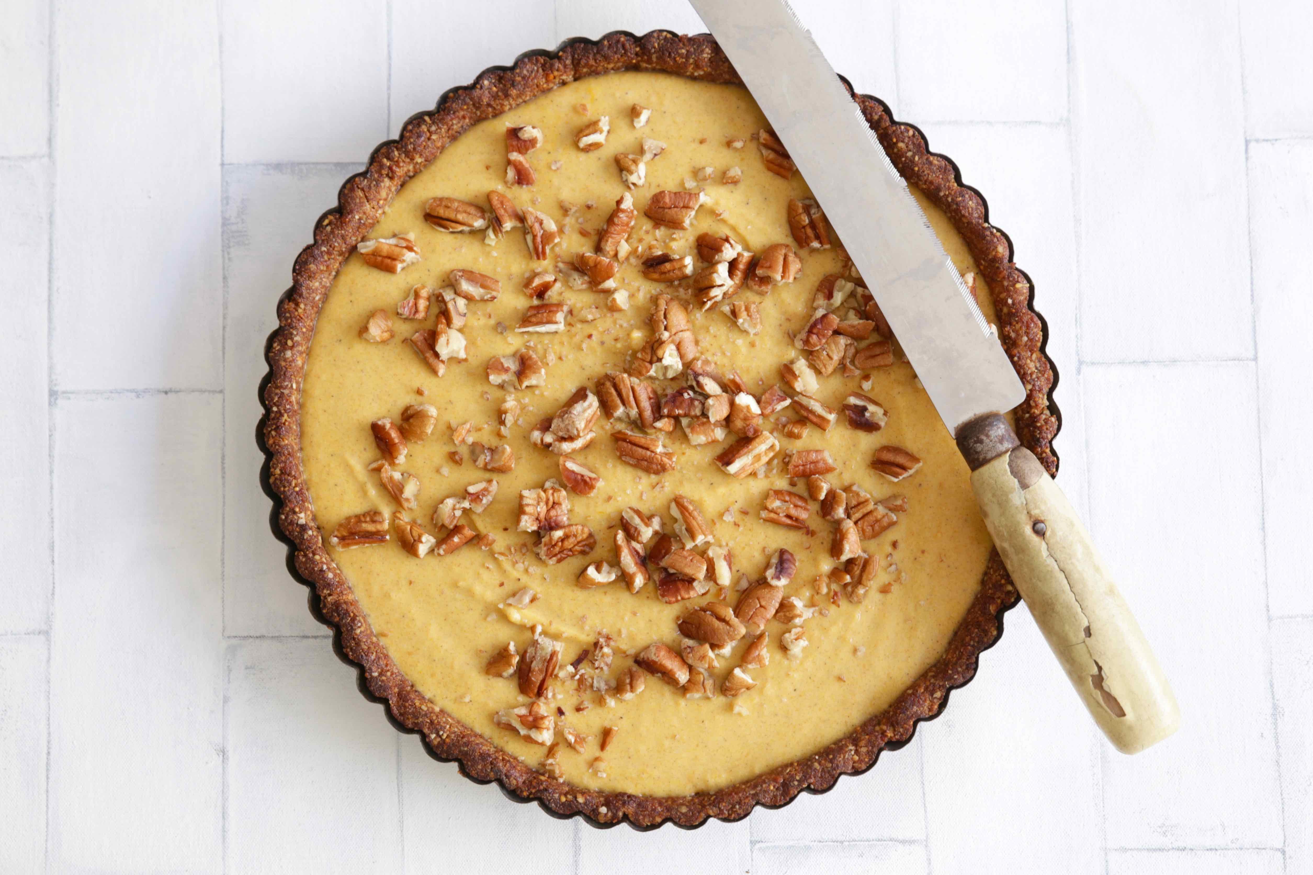 Healthy Pumpkin Pie  HEALTHY PUMPKIN PIE – The Brown Paper Bag