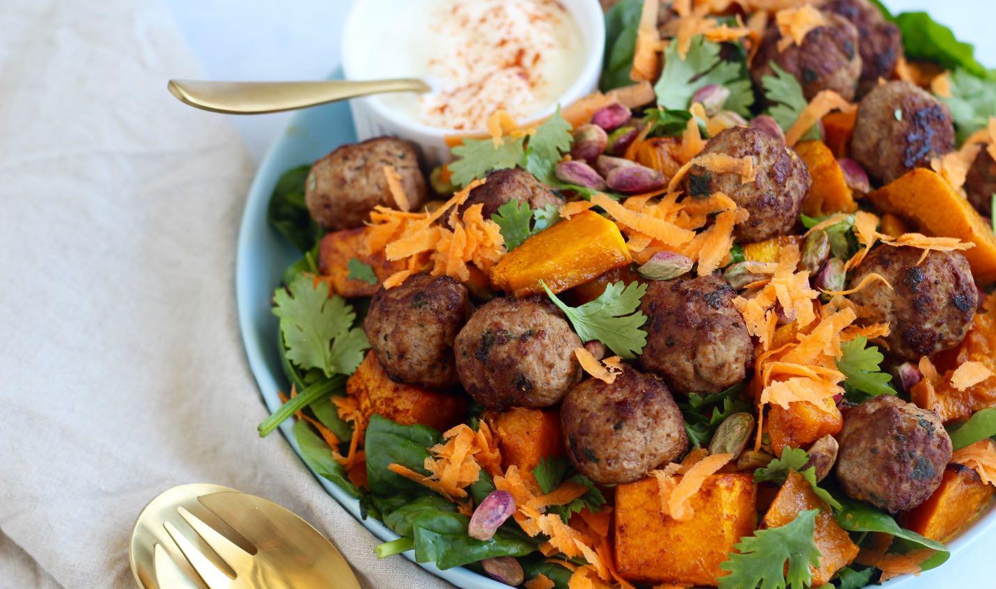 Healthy Pumpkin Recipes Dinner  Moroccan lamb and pumpkin salad