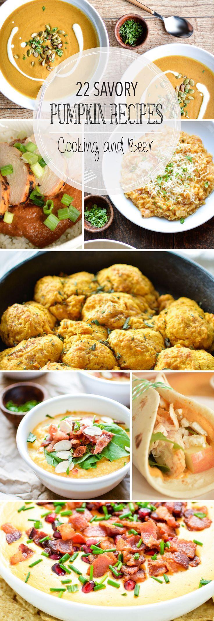 Healthy Pumpkin Recipes Dinner  Best 25 Fall dinner recipes ideas on Pinterest
