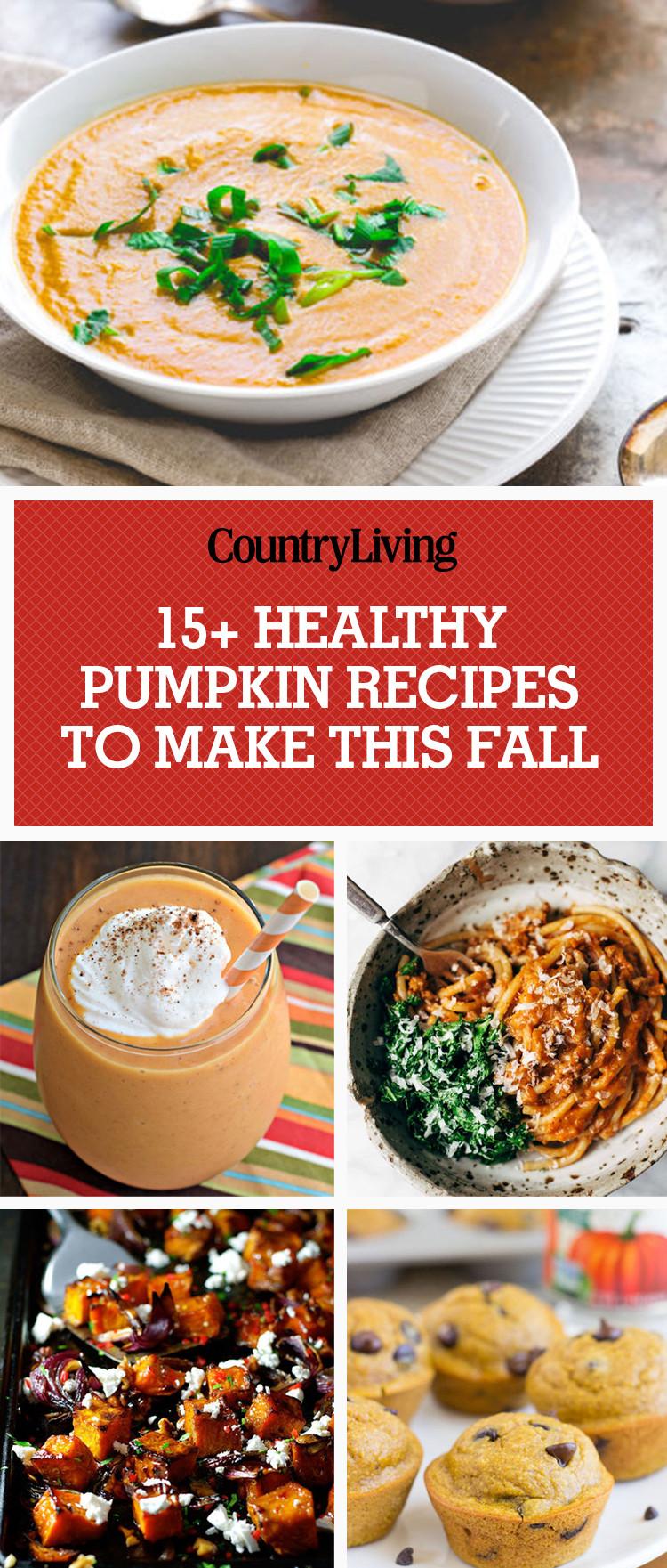 Healthy Pumpkin Recipes Dinner  16 Healthy Pumpkin Recipes Low Fat Ways to Eat Pumpkin